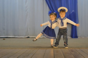 Морячка и моряк
