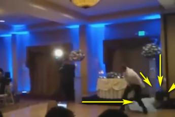 Ударил невесту