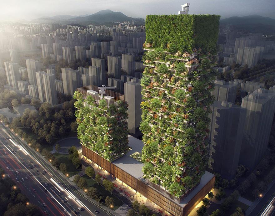 Вертикальный лес 1