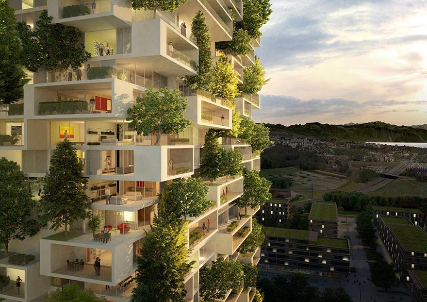 Вертикальный лес 5