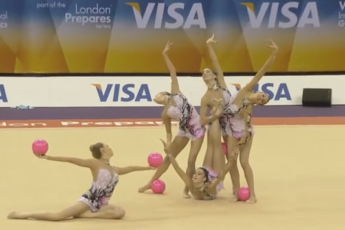 Гимнастки Испания